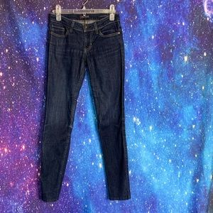Guess- Power Skinny Dark Wash Jeans size 26